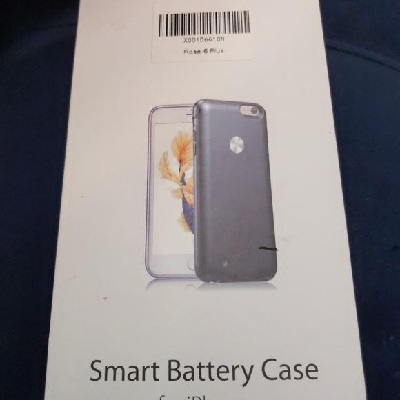 premium selection f168a 423c9 Smiphee iPhone 6,7,8 plus battery case, Rose.